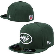 New York Jets NFL Pop Basic 59FIFTY Collection Caps Green