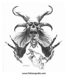 Evil Tattoo Ideas For Men 2 - Tattoospedia