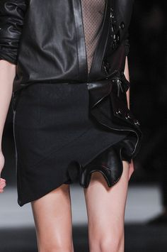 Anthony Vaccarello Fall 2014 - Details
