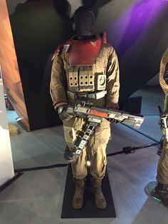 Photos of costumes from Rogue One: A Star Wars Story were spotted at the Nurembe...