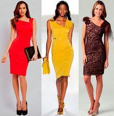 Patrón gratis: vestido con escote asimétrico   Aprender manualidades es facilisimo.com