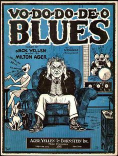Vo-do-do-de-o Blues by wackystuff, via Flickr