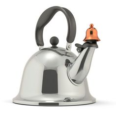 jcpenney | Michael Graves Design Bells and Whistles Stainless Steel Tea Kettle