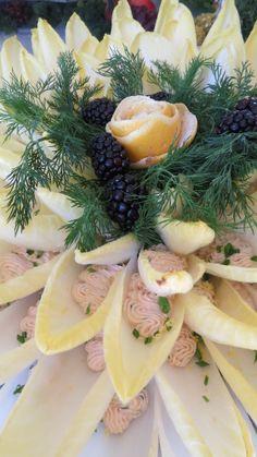Alexander's Catering Salmon Mousse/Belgian Endive Petals