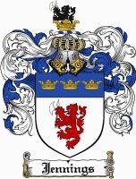 Jennings Coat of Arms / Jennings Family Crest