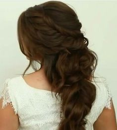 Would love to wear my hair like this♡
