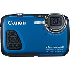 Best Waterproof Digital Camera Canon PowerShot D30 (New)