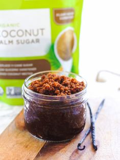 Did You Know: Our organic Coconut Palm Sugar is the ideal one-to-one replacement for cane sugar. Why? It has about half the glycemic index, a delicious caramel flavor and can be used in recipes that not only go IN your body, but ON your body, too!  Get glowing - both inside and out - with this refreshingly easy Coffee Coconut Body Scrub. #NationalCoconutDay Coffee Works, Easy Coffee, Diy Beauty, Beauty Hacks, Coconut Body Scrubs, Palm Sugar, Superfood, Coconut Oil
