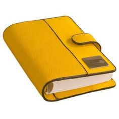Buy The Brown Book Leather Planner Organiser Mi Series Yellow Online In India Wide