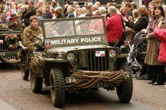 World War ll Military Police Jeep....