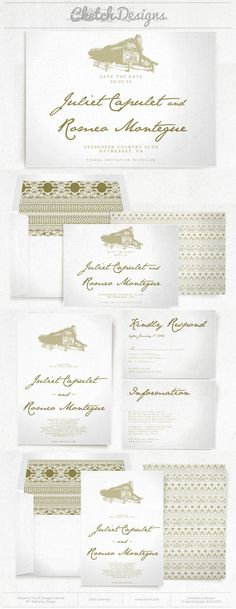 Rustic barn & lace wedding invitation and save the date template.  Patterns and envelope liners included.  $9.00 - https://www.etsy.com/listing/179813221/diy-printable-word-template-2014-truly