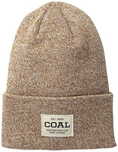 66928769ffb Coal Men s The Uniform Fine Knit Workwear Cuffed Beanie Hat Review Beanie  Hats