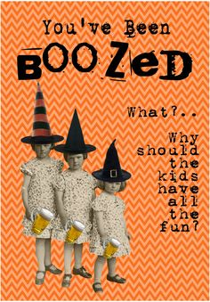 HALLOWEEN FREEBIE You've Been Boozed FREE by BluegrassWhimsy, EMAIL bluegrasswhimsy@yahoo.com for the file! FREE!!!!