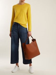 Pagode sweater | Weekend Max Mara | MATCHESFASHION.COM UK Mode Outfits, Fall Outfits, Casual Outfits, Fashion Outfits, Womens Fashion, Fashionable Outfits, Fashion Clothes, Weekend Outfit, Weekend Wear