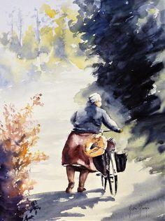 Watercolor sketching / aquarelle de Didier GEORGES