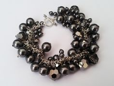 DIY cluster bracelet.  I've always wanted one of these.