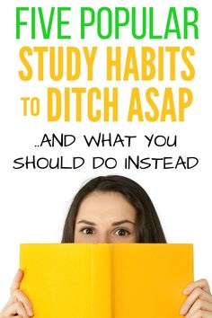 Wondering how to study in college? This is a good place to start. Click to learn five popular but unproductive college study strategies and why you should ditch them ASAP. College Life Hacks, College List, College Planning, Study Techniques, Study Methods, Study Tips, Good Study Habits, College Supplies, Study Schedule