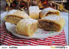 Jablkový závin pro chlapy recept - TopRecepty.cz Cornbread, French Toast, Breakfast, Cake, Ethnic Recipes, Millet Bread, Breakfast Cafe, Pie Cake, Pie