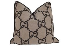 Gucci Throw Pillows | Gucci Cashmere & Wool Blanket Pillow