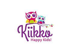 Owl-inspired childcare logo design by Loveshugah.