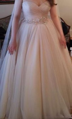 Allure Bridals 2607 (similar to LAZARO 3108): buy this dress for a fraction of the salon price on PreOwnedWeddingDresses.com