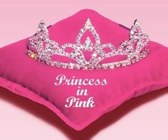 A Book With Color in the Title - The Princess Diaries, Volume V: Princess in Pink by Meg Cabot Pretty In Pink, Pink Love, Hot Pink, Princess Tiara, Pink Princess, Princess Kitty, I Believe In Pink, Pink Pillows, Everything Pink