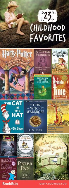 23 of some of the best books for kids. These classic books are great for boys and girls!