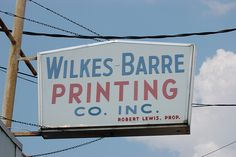 Wilkes Barre Printing Co.