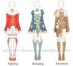 [CM] Chinese Outfit Sheet @Lucki13ear by Aloise-chan.deviantart.com on @DeviantArt