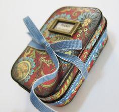 Pocket Affirmation: Altered Tin by Racky Road (v cool inside ~ https://pinterest.com/pin/110619734568505126/)