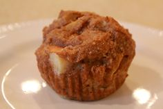 Apple Muffins - almond meal, eggs, apple, banana, coconut oil, water, baking soda, cinnamon