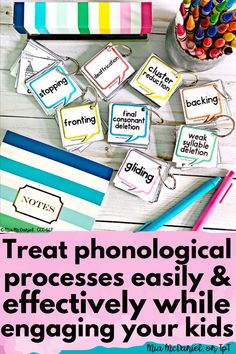 Need phonology activities that bring about TONS of practice? This packet features 8 common phonological processes: final consonant deletion, weak syllable deletion, backing, fronting, stopping, cluster reduction, gliding and deaffrication. These engaging activites will make your therapy productive and motivating so that you get results and your children's speech skills TRANSFORM! Articulation Therapy, Articulation Activities, Speech Therapy Activities, Language Activities, Final Consonant Deletion, Phonological Processes, Response To Intervention, Syllable, Special Education Teacher