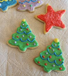 classic sugar Christmas cookies