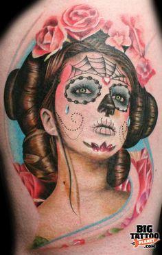 Tattoo by Mick Squires at Korpus Tattoo, Brunswick, Australia - Biomechanical Tattoo   Big Tattoo Planet