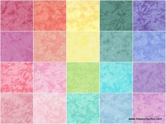 Handspray Cotton Candy Charm Pack - RJR Fabrics - RJR Fabrics — Missouri Star Quilt Co.