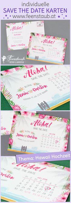 Save the Date - Aloha!