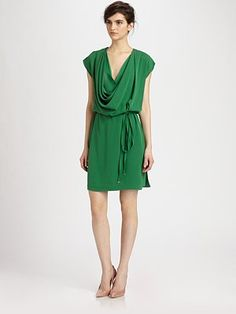 Diane von Furstenberg - New Reara Silk Dress - Saks.com