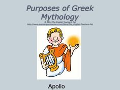 Included is a creative writing assignment and Three PowerPoints from Greek Mythology asking students to write their own myth or legend about a God or hero. Students are also asked to create a visual and a handout for the audience/class that reviews or teaches the known information of the hero or God. All of these assignments culminate into a great presentation project for the student to share their mythology research, visual, and creative writing story to their classmates. Grades 6-12. $