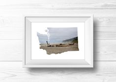 Beach Life by Clemmie Sheffield on Etsy