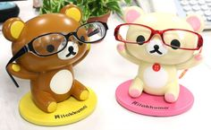 Strapya World : San-X Rilakkuma Eye Glasses Stand (Rilakkuma) 【stationery】 【Toys】
