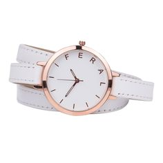 The Jane - White | Feral Watches