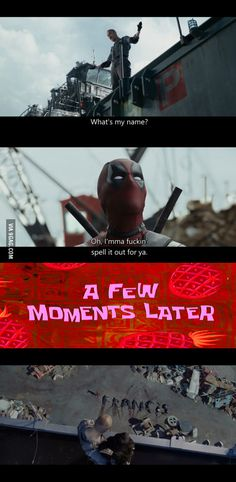 Gotta love Deadpool.