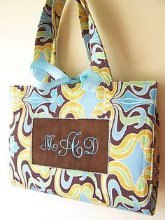 """Bible bag! I don't like Bible """"covers"""", so this would be perfect for my Sunday purse. Bible, small notebook, pen, highlighter, mints, etc :) And OF COURSE my name on it! lol"""