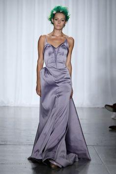 New York Fashion Week Spring 2014 ,  Zac Posen