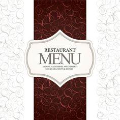 Vintage Restaurant Menu with Label - http://www.welovesolo.com/vintage-restaurant-menu-with-label/