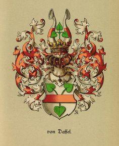 Wappen derer von Daßel - Dassel / Coat of Arms of The Family von Dassel / Armas de la Familia von Dassel