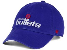 Washington Bullets '47 NBA Hardwood Classics '47 CLEAN UP Cap