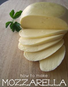 mozzarella recipe part 2. the actual action. (the first part was gathering ingredients, etc.)