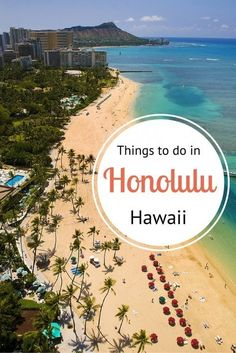 September planning...Honolulu Travel Tips - where to eat, drink, sleep, shop, explore and much more!