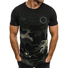 OZONEE Herren T-Shirt mit Motiv Kurzarm Rundhals Figurbetont BREEZY 301